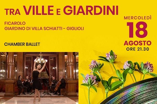 Chamber Ballet -Giardino di Villa Schiatti - Giglioli - Ficarolo (RO)