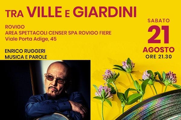 Enrico Ruggeri - Musica e Parole - CenSer Rovigo