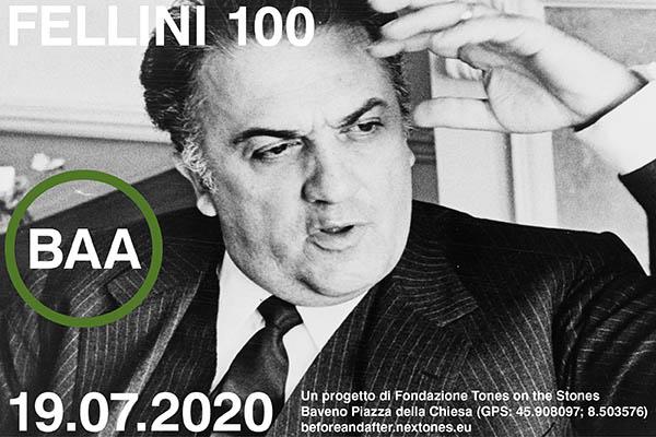 Biglietti - Fellini 100 - Baveno VB - Piazza della Chiesa