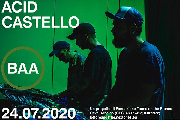 Biglietti - Al cinema con Acid Castello - Cava Roncino - Oira di Crevoladossola VB