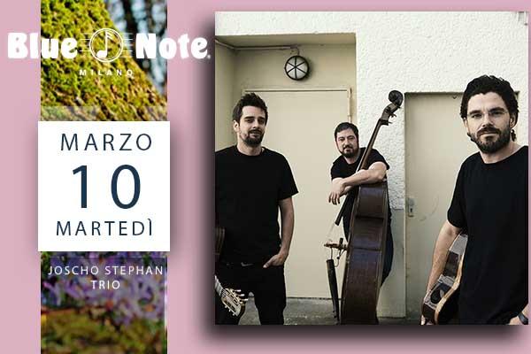 Biglietti - Joscho Stephan Trio - Blue Note - Milano