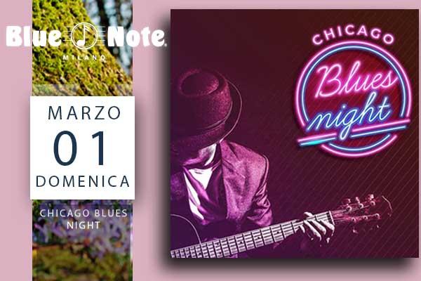 Biglietti - Chicago Blues Night - Blue Note - Milano