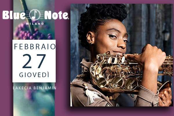 Biglietti - Lakecia Benjamin - Blue Note - Milano