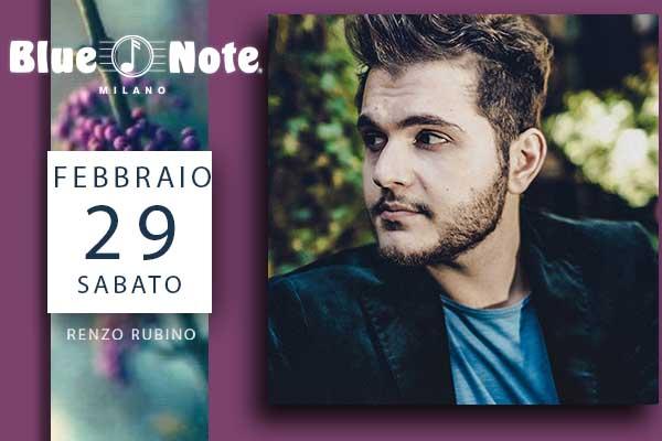 Biglietti - Renzo Rubino - Blue Note - Milano