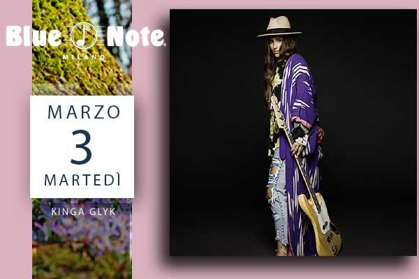 Biglietti - Kinga Glyk - Blue Note - Milano