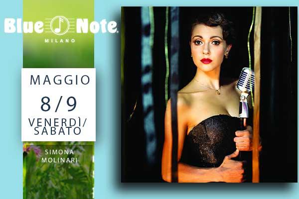 Biglietti - Simona Molinari - Blue Note - Milano