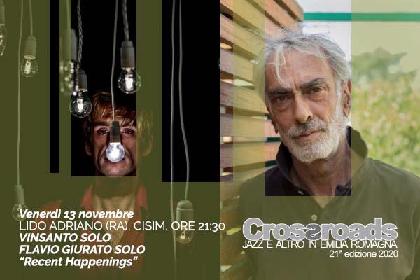 Biglietti - VINSANTO SOLO - FLAVIO GIURATO SOLO - Cisim - Lido Adriano