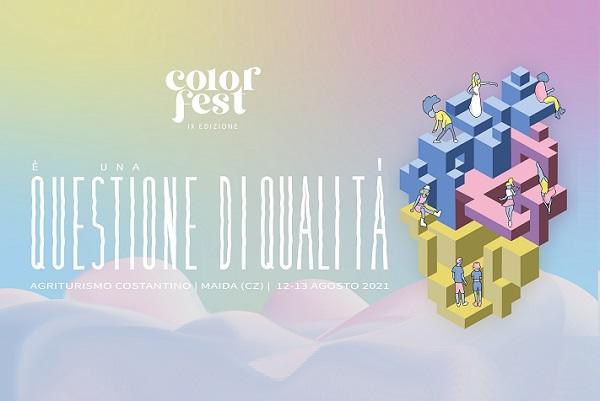 Abbonamento Color Fest IX Edizione - Agriturismo costantino Maida Catanzaro biglietti