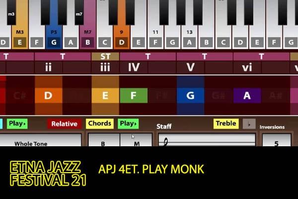 Biglietti APJ 4et. Play Monk - Etna Jazz Festival 2021