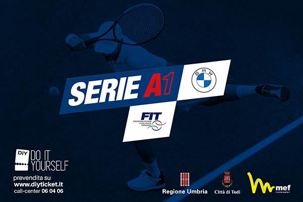 Biglietti - Finali Serie A1 BMW maschili e femminili - Tennis Club 1971 - Todi