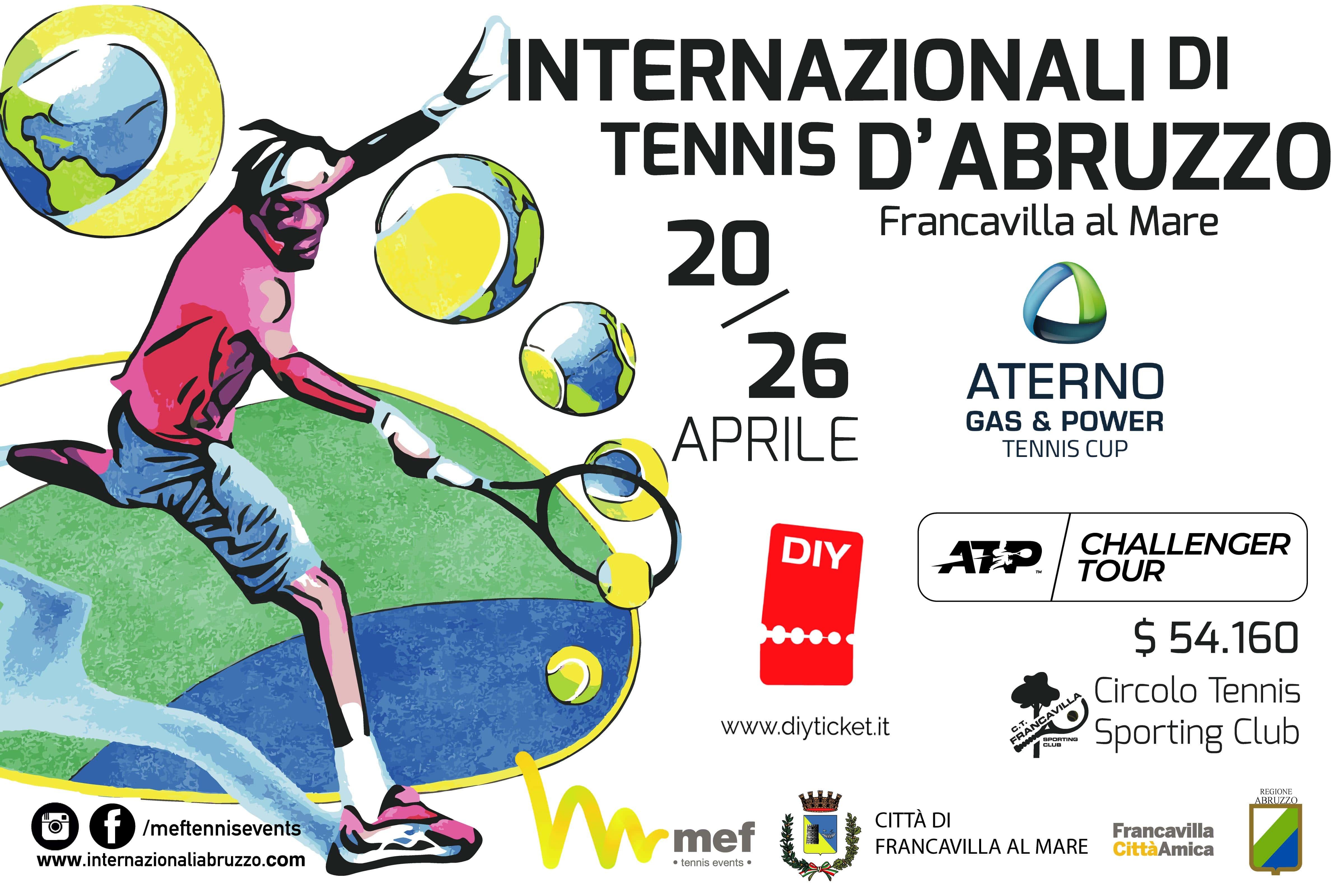 Internazionali di Tennis d'Abruzzo - Circolo Tennis Sporting Club - Francavilla (CH)