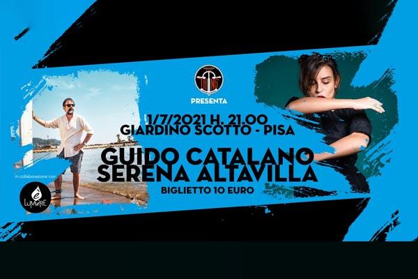 Biglietti Guido Catalano + Serena Altavilla - Giardino Scotto - Pisa