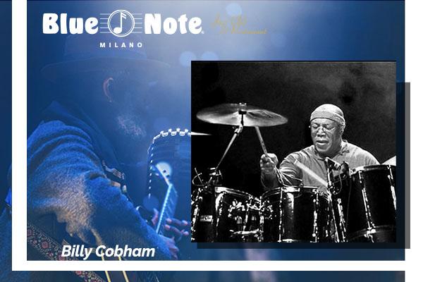 Biglietti - Billy Cobham - Blue Note - Milano