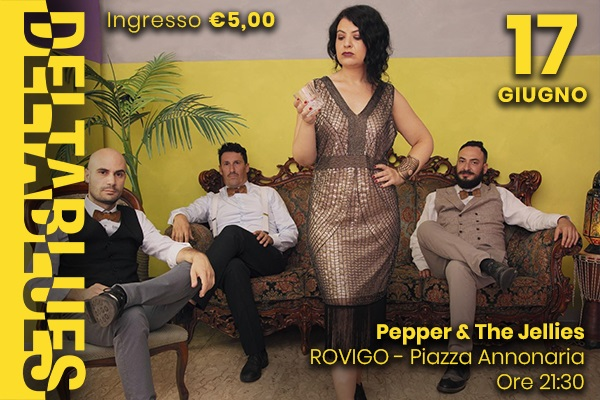Deltablues - Pepper & The Jellies - Rovigo