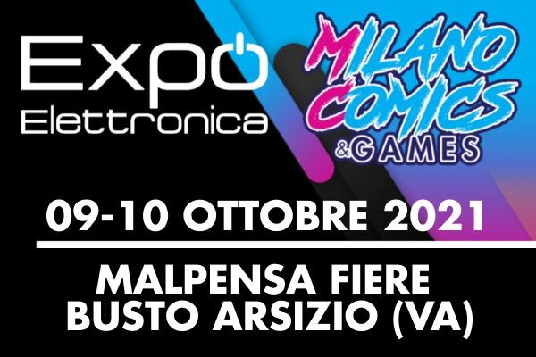 Expo' Elettronica Busto Arsizio 2021 - Malpensa Fiere - Biglietti