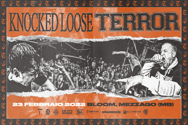 Biglietti - Knocked Loose + Terror - Bloom - Mezzago (MB) - Via Eugenio Curiel, 39