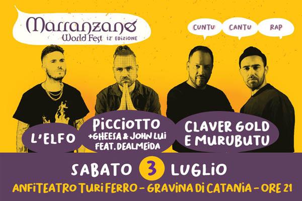 MWF CUNTU CANTU RAP - Anfiteatro Turi Ferro- Gravina di Catania CT