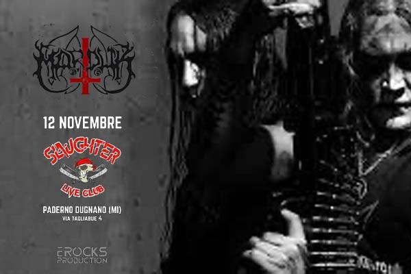 BIglietti - Marduk - Slaughter Club - Paderno Dugnano
