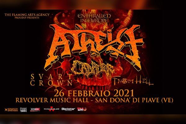 Biglietti - Atheist - Discoteca Revolver - San Dona' di Piave (VE)
