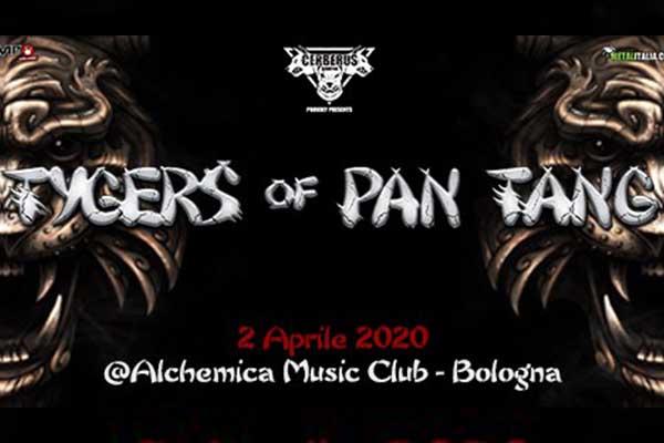 Biglietti - Tygers Of Pan Tang - Alchemica Music Club - Bologna