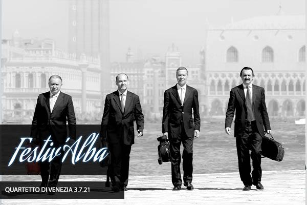 Beethoven - Quartetto d'archi di Venezia biglietti San Pietro Alba Fucens