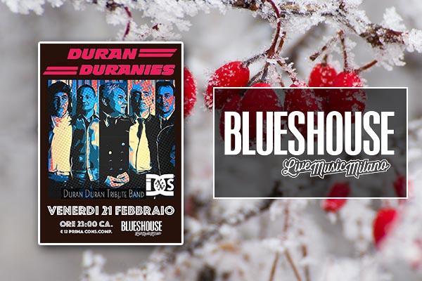 Biglietti - live by Duran Duranies - Blues House Milano