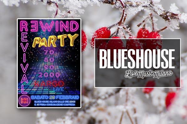 Biglietto- PARTY di CARNEVALE - Blues House Milano