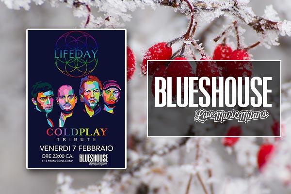 Biglietti - COLDPLAY EVENT - Blues House Milano