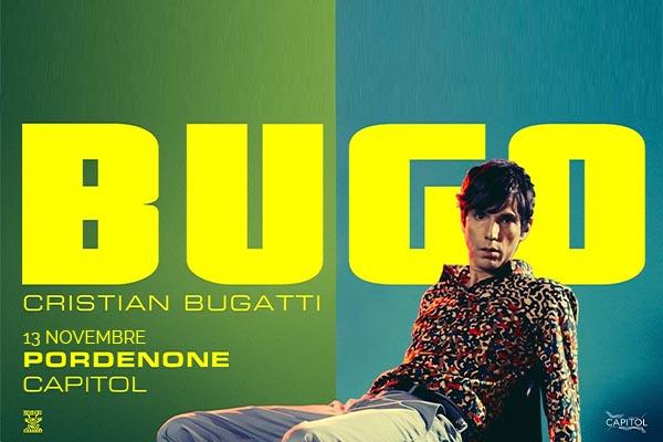 Biglietti- Bugo - Capitol Pordenone