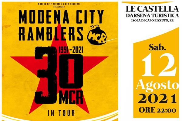 Biglietti - Modena City Ramblers - Capo RIzzuto (KR)