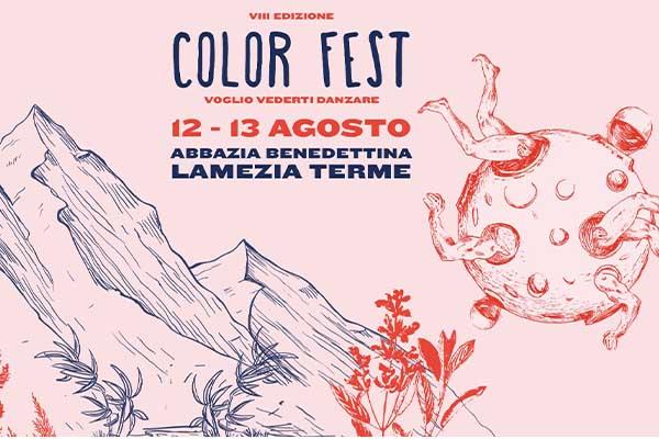 Abbonamento - Color Fest VIII Edizione - Lamezia Terme (CZ)