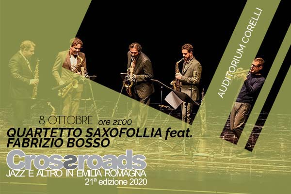 Quartetto Saxofollia-Fabrizio Bosso|Audit.Corelli|Fusignano