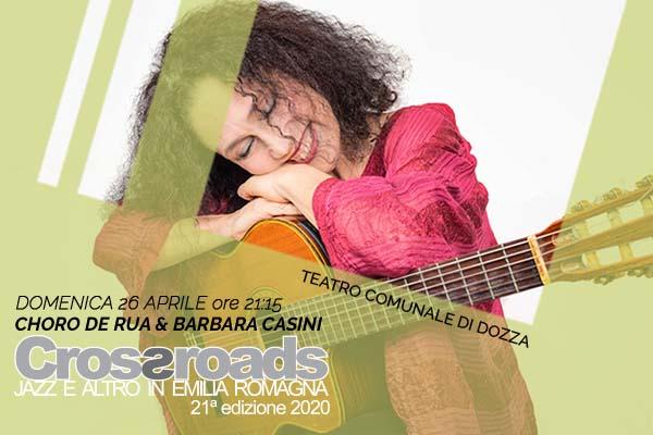 Biglietti - Choro De Rua & Barbara Casini - Teatro di Dozza