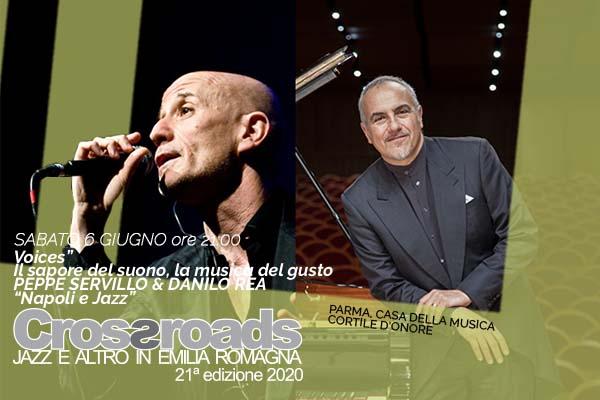 Biglietti - Peppe Servillo & Danilo Rea - Casa della Musica - Parma