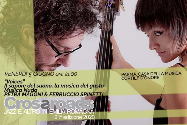 Biglietti - Petra Mangoni & Ferriccio Spinetti - Casa della Musica - Parma