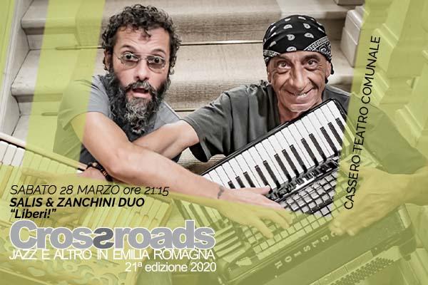Biglietti - Salis & Zanchini Duo - Teatro Comunale Cassero - Castel San Pietro Terme (BO)