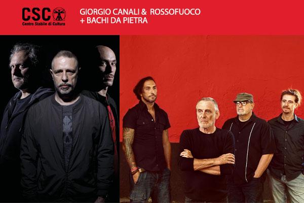 Giorgio Canali e Rossofuoco + Bachi da Pietra biglietti CSC Schio