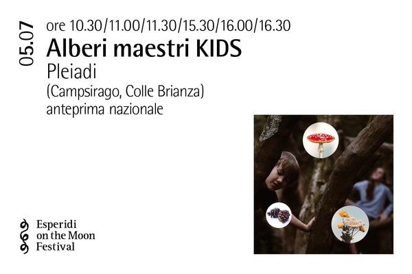 Biglietti - Alberi maestri KIDS - Palazzo Gambassi - Colle Brianza