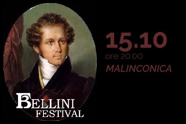 Biglietti - Malinconia - Bellini Festival 2020 - Chiesa Badia Sant'Agata - Catania