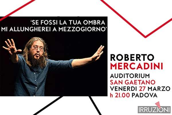 Biglietti - Roberto Mercadini - Auditorium San Gaetano
