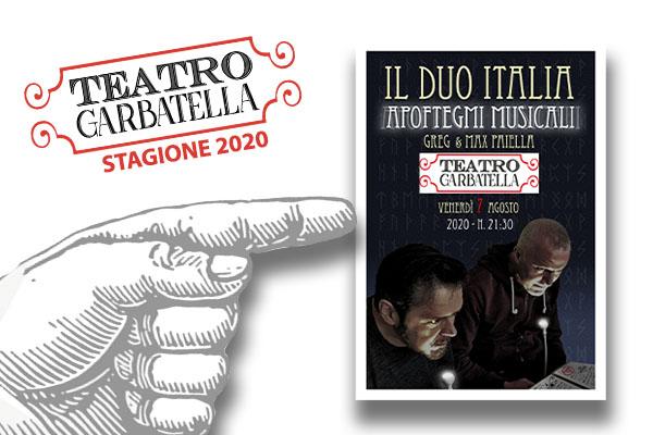 Il Duo Italia - Apoftegmi Musicali - Teatro Garbatella Roma