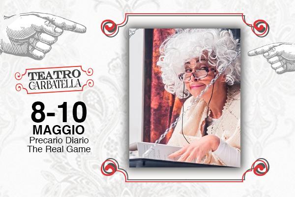 Biglietti Precario Diario - The Real Game - Teatro Garbatella - Roma