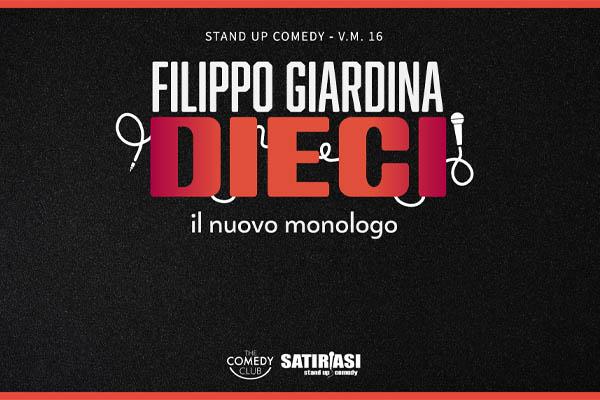 Filippo Giardina - Teatro Arena Conchiglia Sestri Levante Genova