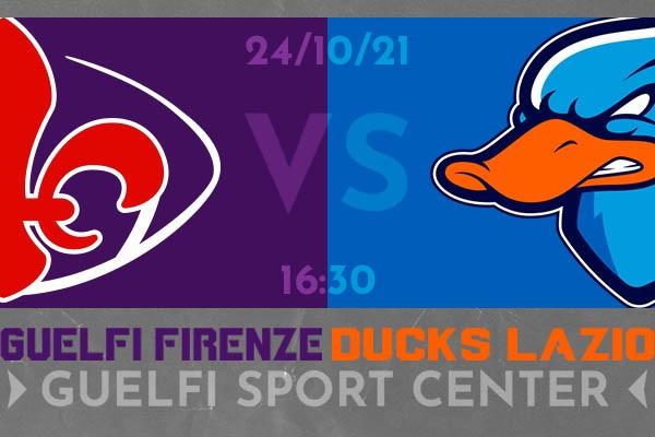 Guelfi Vs Ducks Roma - Coppa Italia - Firenze - Biglietti
