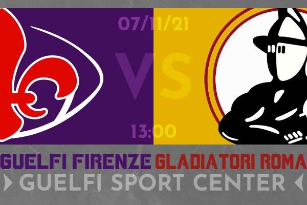 Under 15 - Guelfi Vs Gladiatori Roma - Firenze - Biglietti