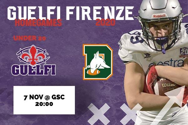 Biglietti - Guelfi Firenze U20 vs Dolphins Ancona U20 - Guelfi Sport Center - Firenze (FI)