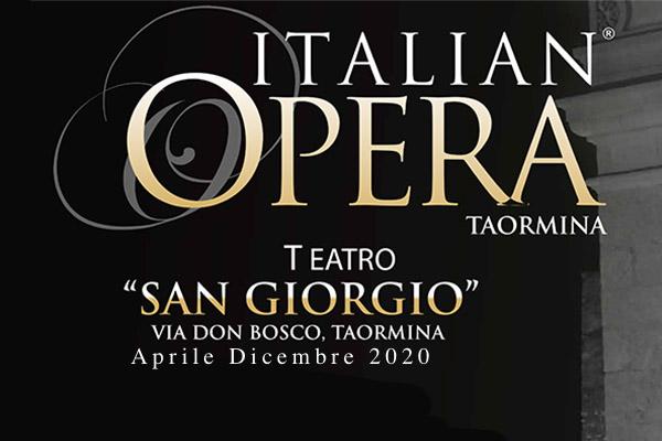 Biglietti - Italian Opera Taormina - Teatro San Giorgio