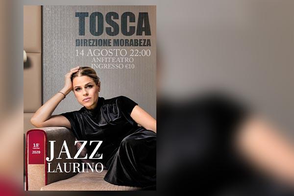 Tosca  JazzinLaurino Festival  - Anfiteatro Laurino (SA)