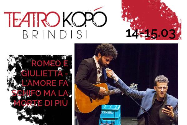 Biglietti Romeo e Giulietta - Teatro Kopo'