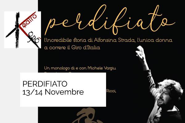Biglietti - Perdifiato - Teatro Kopò - Roma (RM) -  Via Vestricio Spurinna 47/49